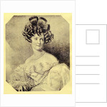Princess Carolyne zu Sayn-Wittgenstein by Russian School