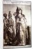Kosem Sultan with servants by Ottoman School