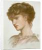 Portrait of Aglaia Coronio (nee Ionides) 1870 by Dante Gabriel Charles Rossetti