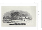 Approaching a Village in the Winter by Thomas Bewick