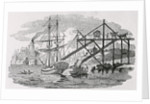Loading Coal on Cargo Ships by Thomas Bewick