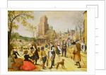 A Village Kermesse by Sebastian Vrancx