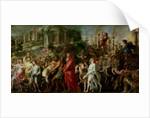 A Roman Triumph by Peter Paul Rubens