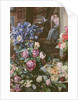 Still Life with Louise Alt in the background by Rudolph von Alt