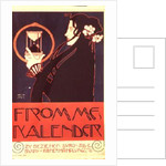 Design for the Frommes Calendar by Kolo Moser