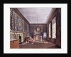 The Guard Chamber, St. James' Palace from Pyne's 'Royal Residences' by William Henry Pyne