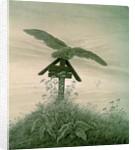 Owl on a Grave, 1836-7 by Caspar David Friedrich