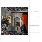 The Annunciation by Giovanni Bellini