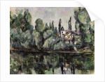 The Banks of the Marne by Paul Cezanne