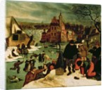 Winter by Pieter the Younger Brueghel