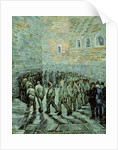 The Exercise Yard, or The Convict Prison by Vincent van Gogh