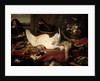 Still Life of Game and Shellfish by Frans Snyders or Snijders