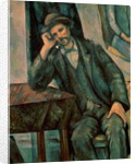 Man Smoking a Pipe by Paul Cezanne