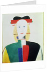 The Girl with the Hat by Kazimir Severinovich Malevich