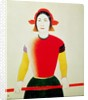 Girl with a Pole by Kazimir Severinovich Malevich
