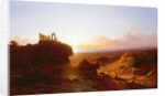 Romantic Landscape by Antal Ligeti