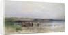 Lake Balaton with the Shore of Akarattya by Geza Meszoly