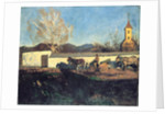 Evening in March by Karoly Ferenczy
