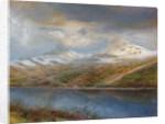 Landscape in the Tatra Mountains by Laszlo Mednyaszky