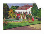 Manor House in Kertvelyes by Jozsef Rippl-Ronai