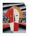 Head of a Peasant by Kazimir Severinovich Malevich