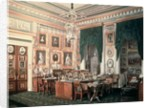 The Study of Alexander III at Gatchina Palace by Eduard Hau