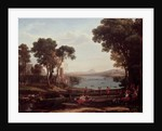 Landscape with the Marriage of Isaac and Rebekah (The Mill) by Claude Lorrain