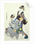 Two Female Figures by Kitagawa Utamaro