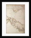 British map of the Siege of Yorktown by John Hills