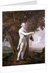 Portrait of John Milnes, 12th Duke of St. Albans by Joseph Wright of Derby