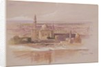 Agra Mosque, Cairo by Edward Lear