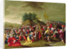 Christ on the road to Calvary, 17th century by Hieronymous III Francken