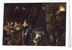 The Temptation of St. Anthony by Gillis van III Coninxloo