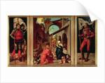 Paumgartner Altarpiece by Albrecht Dürer or Duerer