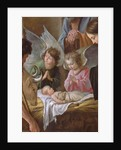 The Adoration of the Shepherds by Antoine and Louis & Mathieu Le Nain