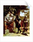 Charles II and Nell Gwynne by Edward Matthew Ward