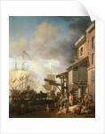 A Thames Wharf by Samuel Scott