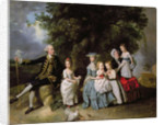 Group Portrait of the Colmore Family by Johann Zoffany