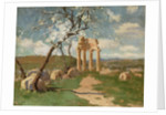 Almond Trees and Ruins, Sicily by John Peter Russell