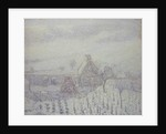Blizzard at Hedouville by Gustave Loiseau