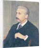 Portrait of Auguste Descamps, the painter's uncle by Theo van Rysselberghe