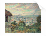 Paris, View of Montmartre by Maximilien Luce