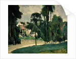 The Road at Pontoise by Paul Cezanne