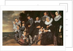 Family Group in a Landscape by Frans Hals