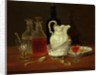 Still Life with Decanters by J. Rhodes