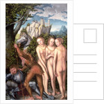 The God Mercury Waking Paris to Judge the Contest of the Golden Apple by Lucas Cranach