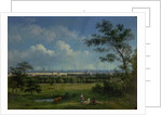 A View of Regent's Park and the Colosseum from Primrose Hill by John Knox