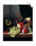 Grapes and plums by Edward Ladell