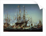 Queen Victoria's Visit to Cherbourg by Jules Achille Noel