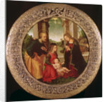 The Holy Family with an Angel by Capponi